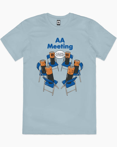 AA Meeting T-Shirt Australia Online