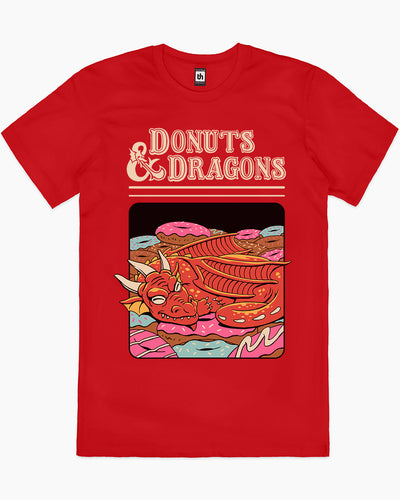Donuts and Dragons T-Shirt Australia Online