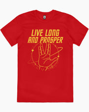 Live Long and Prosper T-Shirt Australia Online