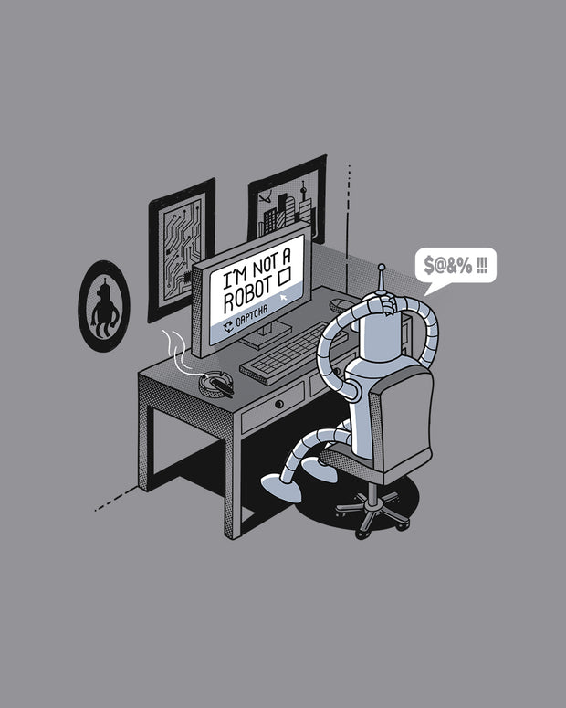 Robot Problems T-Shirt Australia Online