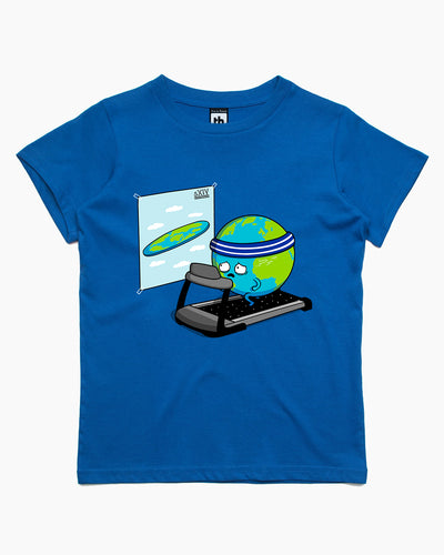 Round Earth! Kids T-Shirt Australia Online