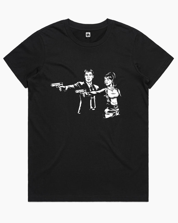 Spy Fiction T-Shirt Australia Online
