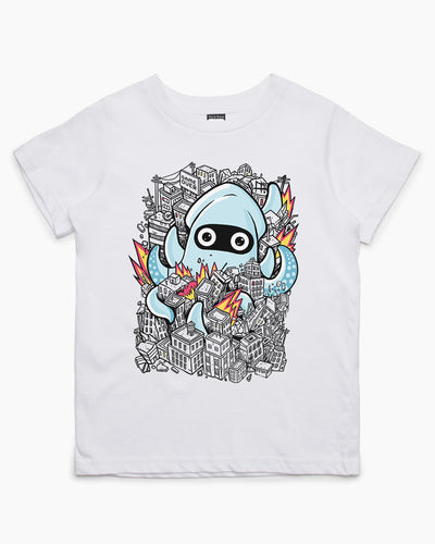 Tentacle Attack Kids T-Shirt Australia Online