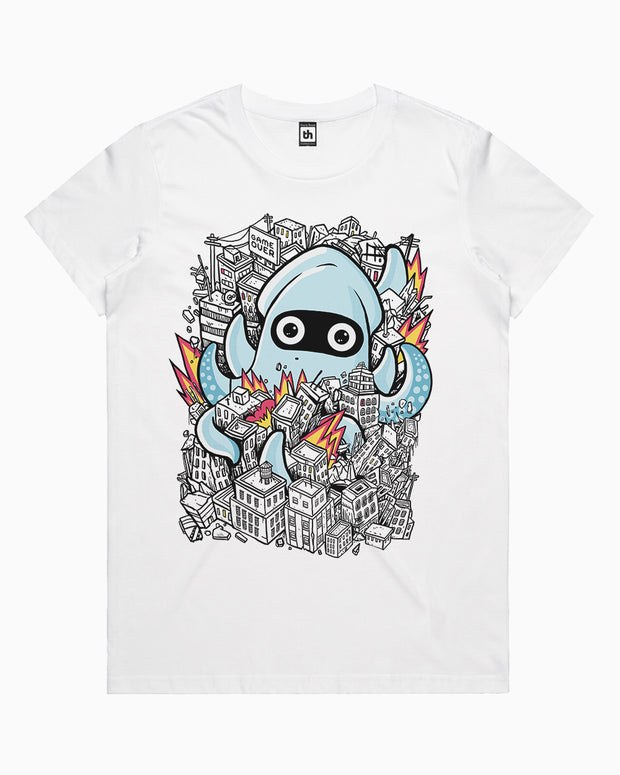Tentacle attack T-Shirt Australia Online
