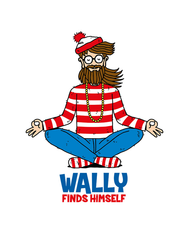 Wally Finds Himself Kids T-Shirt Australia Online