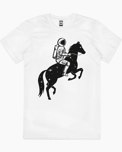 Astronaut and Space Horse T-Shirt Australia Online