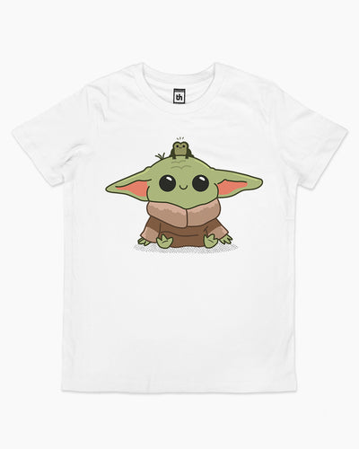 Baby Yoda and Frog Kids T-Shirt Australia Online