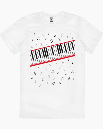 Beat It Piano Keys T-Shirt Australia Online