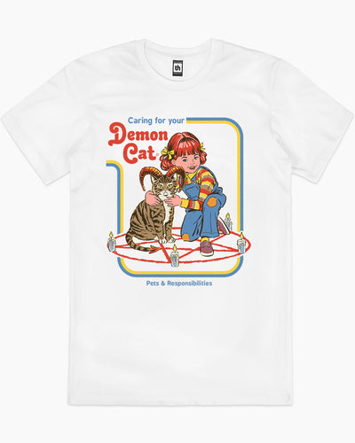 Caring for Your Demon Cat T-Shirt Australia Online