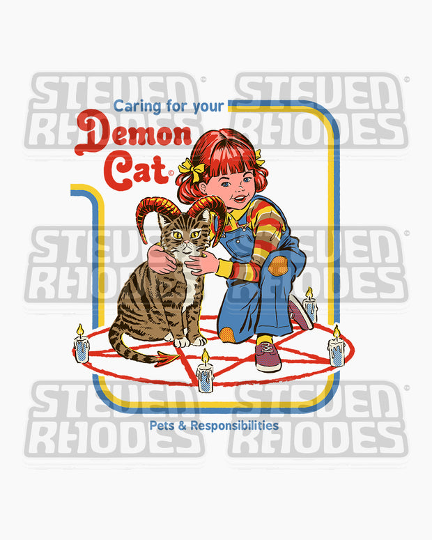 Caring for Your Demon Cat Long Sleeve Australia Online