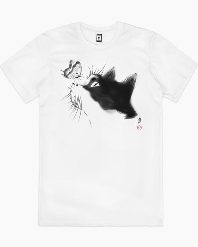 Curious Cat T-Shirt Australia Online