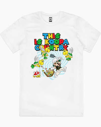 This is Koopa Country T-Shirt Australia Online
