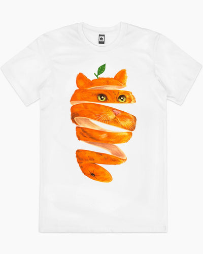 Orange Cat T-Shirt Australia Online