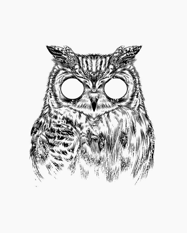 Owltical Illusion T-Shirt Australia Online