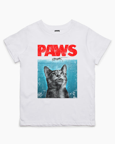 Paws Cat Kids T-Shirt Australia Online