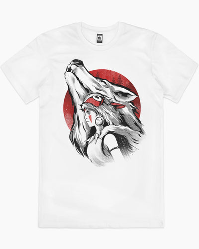 The Princess and the Wolf T-Shirt Australia Online