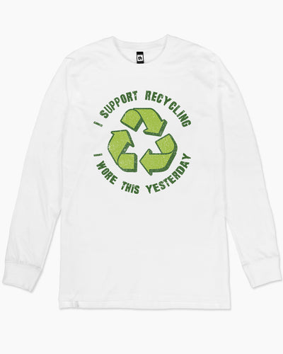 I Support Recycling Long Sleeve Australia Online