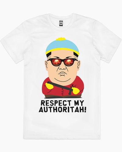 Respect My Authoritah T-Shirt Australia Online