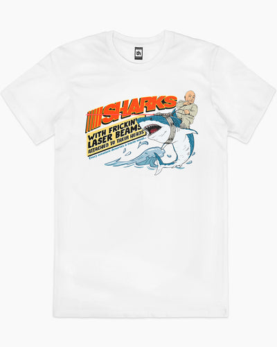 Sharks with Frickin' Laser Beams T-Shirt Australia Online