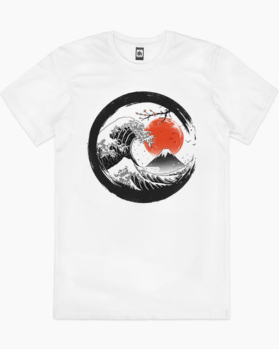 The Great Sumi Wave T-Shirt Australia Online