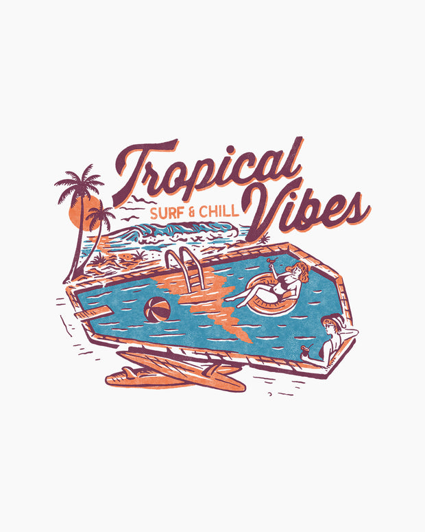 Tropical Vibes Tank Australia Online