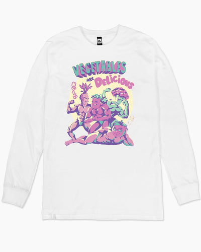 Vegetables are Delicious Long Sleeve Australia Online