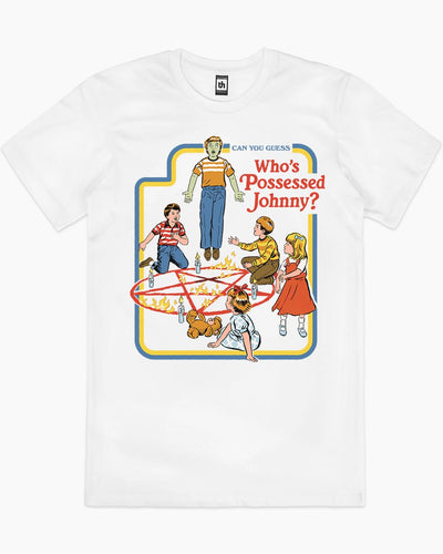 Who's Possessed Johnny? T-Shirt Australia Online