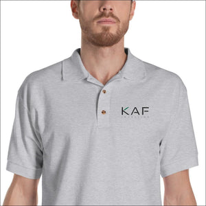 Embroidered Polo Shirt - KAF Investing