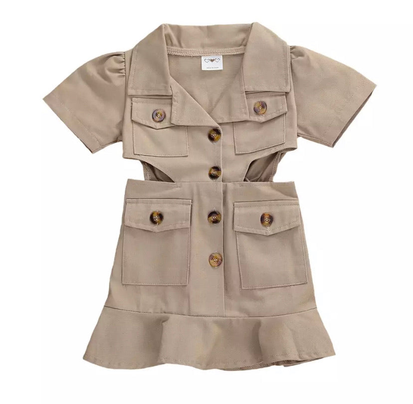 Cadet Dress (Khaki)