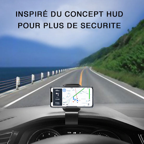HUB SUPPORT PORTABLE VOITURE