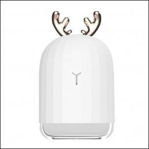 Humidificateur d'air Cerf ou Lapin 220ML Ultrasonic Lumineux