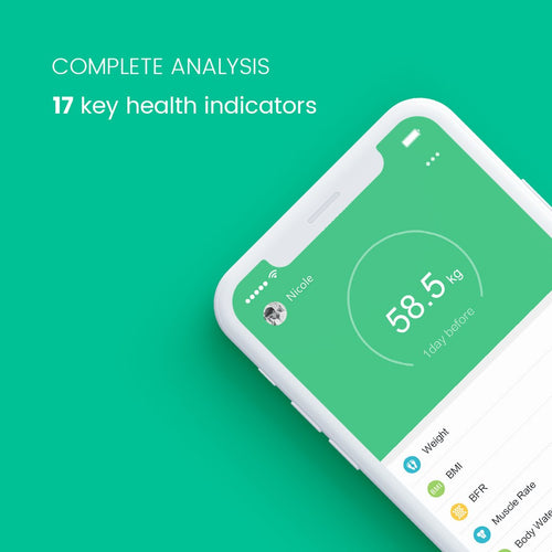 FitTrack - Smart Body BMI Scale