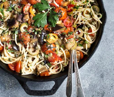 protein rich vegan dish for body-building