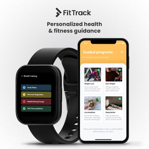 FitTrack Atria  2.0 | Health Smartwatch