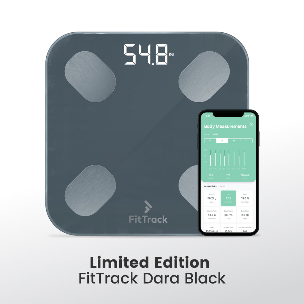 Limited Edition Dara Black BMI Smart Scale