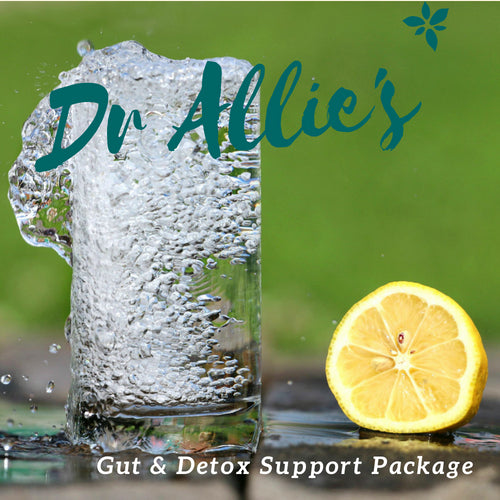 Dr Allie's Gut and Detox Support Package