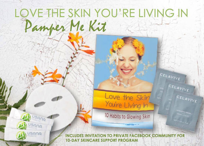 Love the Skin You're Living In Pamper Me Kit