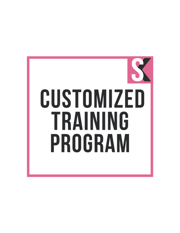 Customized Training Program