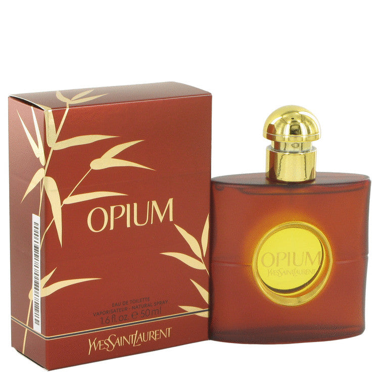 OPIUM by Yves Saint Laurent Eau De Toilette Spray (New Packaging) 1.6 oz for Women