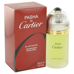 PASHA DE CARTIER by Cartier Eau De Toilette Spray 1.6 oz for Men