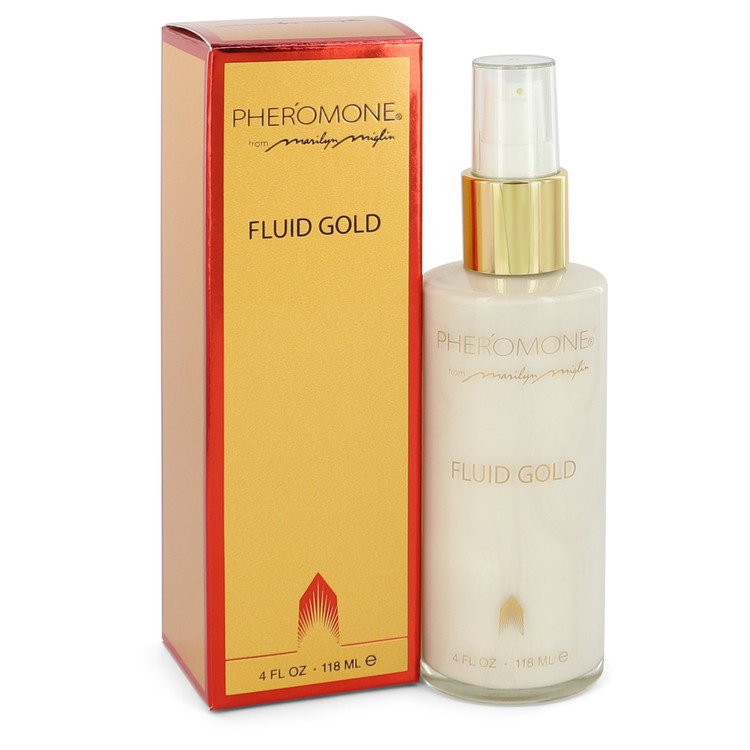 PHEROMONE by Marilyn Miglin Fluid Gold Lotion 4 oz for Women