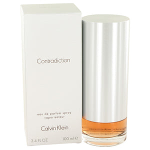 CONTRADICTION by Calvin Klein Eau De Parfum Spray 3.4 oz for Women