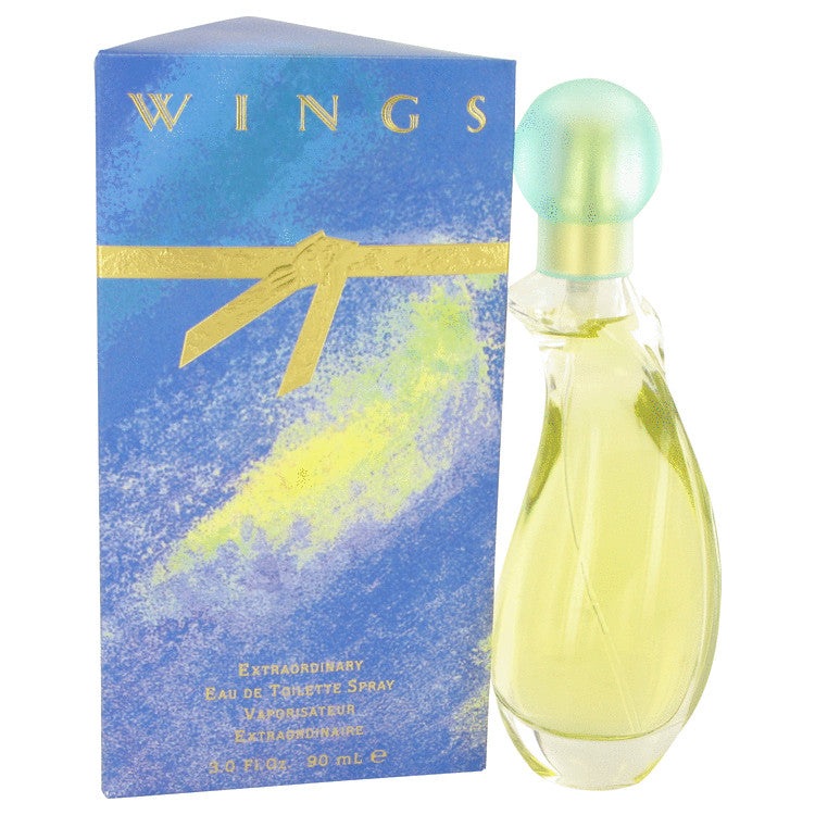 WINGS by Giorgio Beverly Hills Eau De Toilette Spray 3 oz for Women
