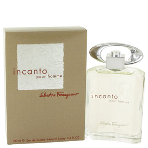 Incanto by Salvatore Ferragamo Eau De Toilette Spray 3.4 oz for Men