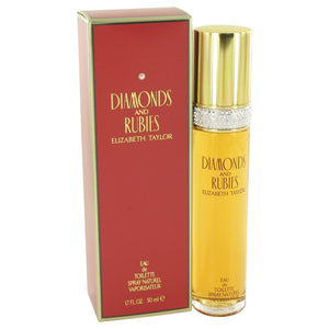 DIAMONDS & RUBIES by Elizabeth Taylor Eau De Toilette Spray 1.7 oz for Women