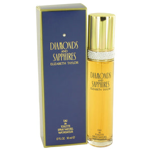 DIAMONDS & SAPHIRES by Elizabeth Taylor Eau De Toilette Spray 1.7 oz for Women
