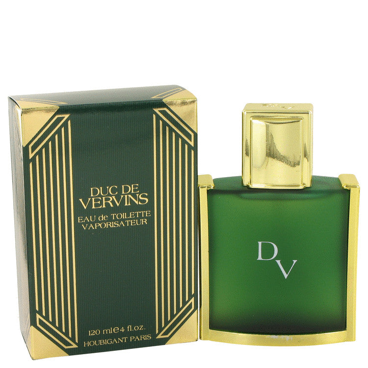 DUC DE VERVINS by Houbigant Eau De Toilette Spray 4 oz for Men