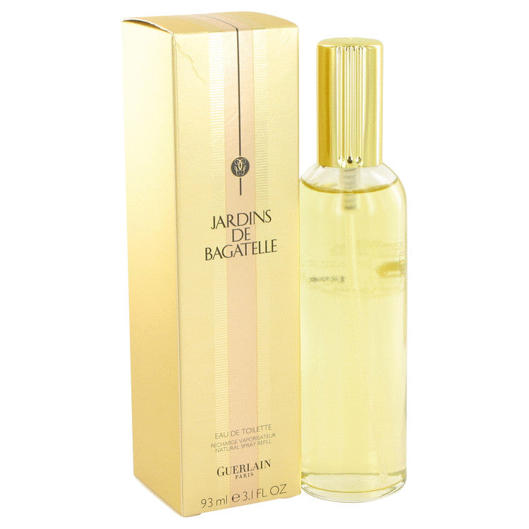 Jardins De Bagatelle by Guerlain Eau De Toilette Spray Refill 3 oz for Women