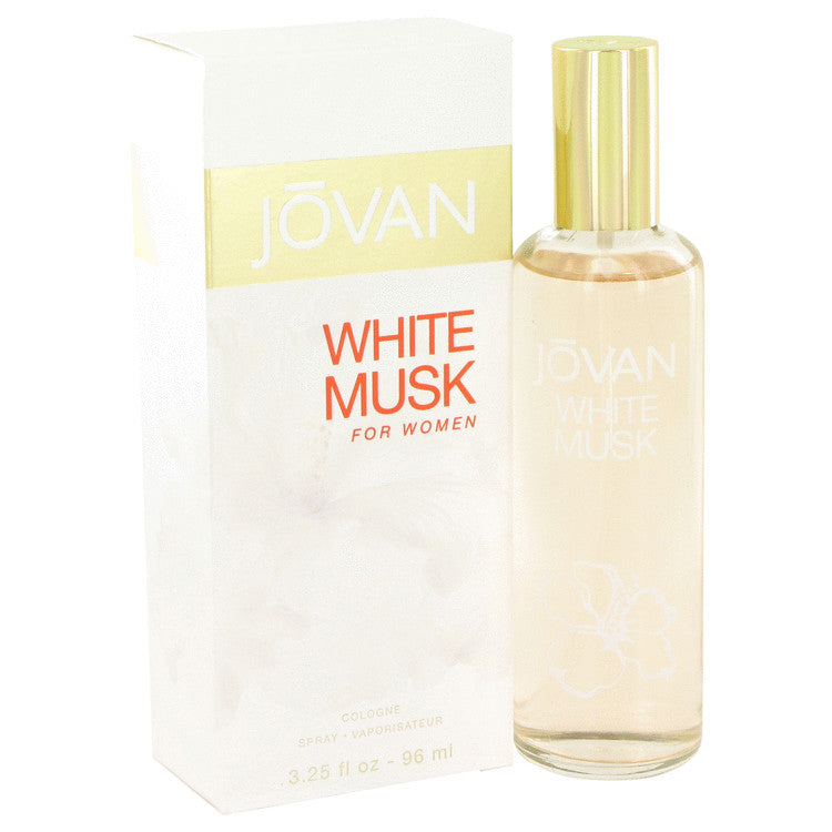 JOVAN WHITE MUSK by Jovan Eau De Cologne Spray 3.2 oz for Women