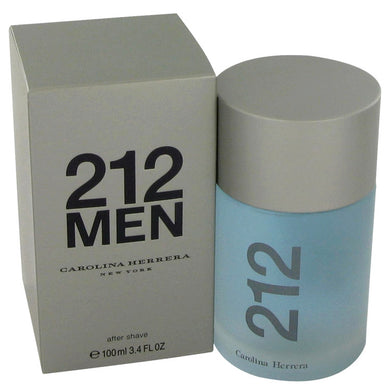 212 by Carolina Herrera After Shave 3.4 oz for Men